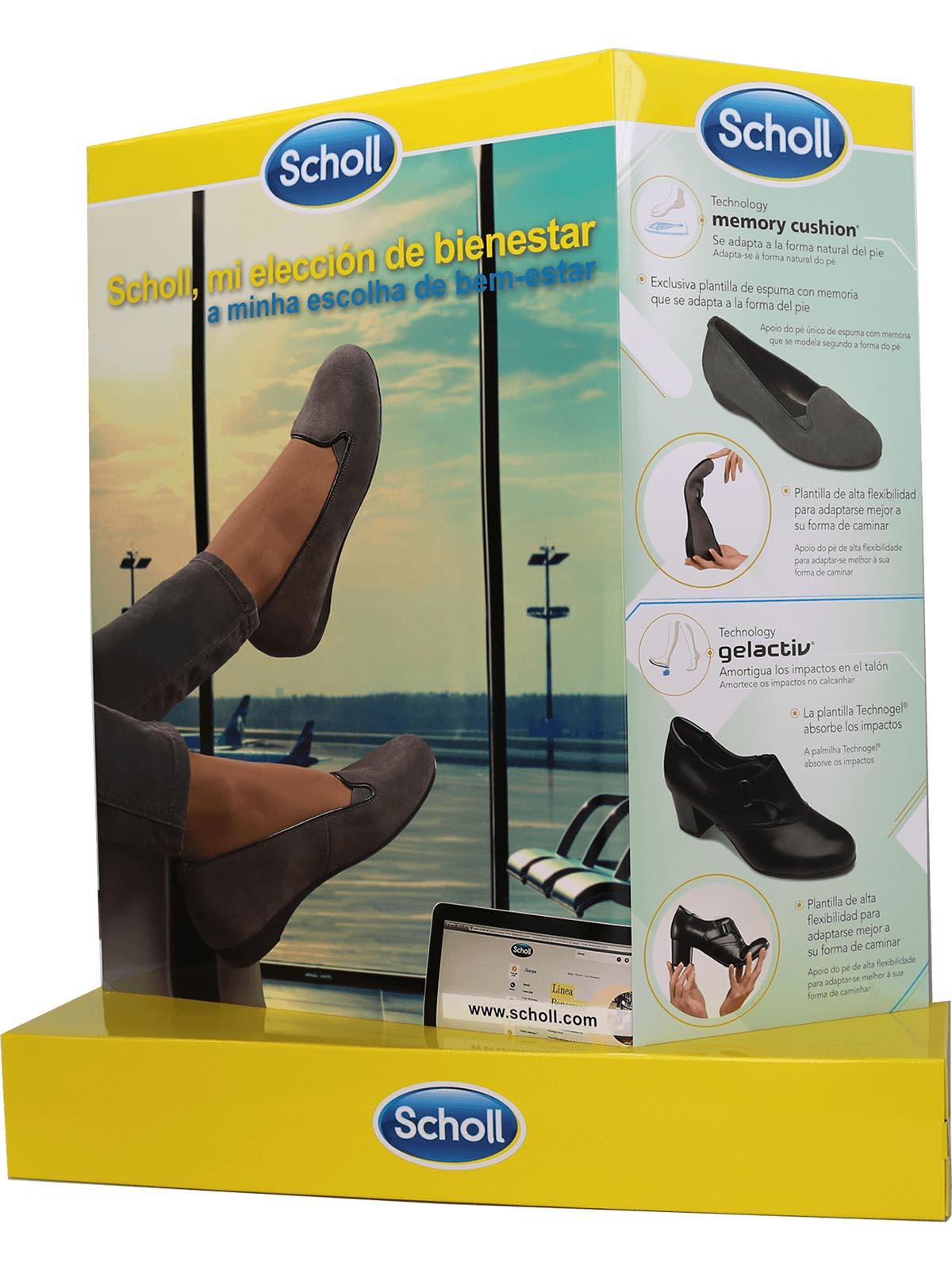 a5bc98a6bc269 Totem pubblicitario Dr Scholl  espositori per il punto vendita e la ...